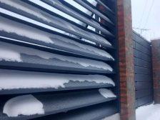 забор - 25 224x168 - Виды заборов жалюзи от завода Мехбуд