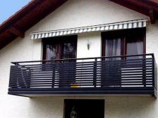 металлическое ограждение Жалюзи - 1 1 224x168 - Использование металлических ограждений для балконов и терас