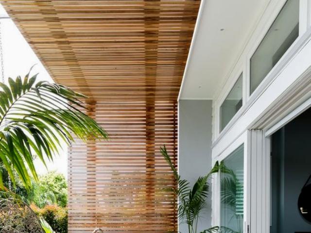 подвесной потолок - 1 2 - Подвесной потолок для террасы