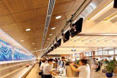 подвесной потолок в трц - 10 1 240x160 - Подвесные потолки в торгово-развлекательном центре