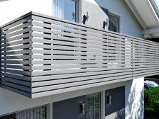 металлическое ограждение Жалюзи - 2 3 224x168 - Использование металлических ограждений для балконов и терас