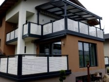 металлическое ограждение Жалюзи - 4 2 224x168 - Использование металлических ограждений для балконов и терас