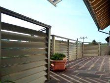металлическое ограждение Жалюзи - 6 1 224x168 - Использование металлических ограждений для балконов и терас