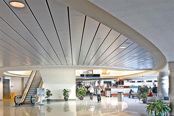 potolok-v-trc подвесной потолок в трц - 7 - Подвесные потолки в торгово-развлекательном центре