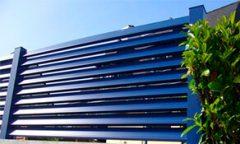 красивый забор - 10 2 240x144 - 40+ красивых идей Горизонтального забора