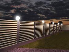 красивый забор - 4 2 224x168 - 40+ красивых идей Горизонтального забора