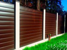 красивый забор - 7 224x168 - 40+ красивых идей Горизонтального забора