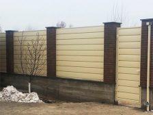 красивый забор - 10 224x168 - 40+ красивых идей Горизонтального забора