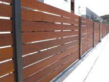 красивый забор - 13 1 224x168 - 40+ красивых идей Горизонтального забора
