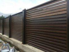 красивый забор - 3 1 224x168 - 40+ красивых идей Горизонтального забора
