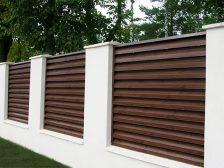забор жалюзи - 7 224x168 - Деревянные и металлические заборы-жалюзи: какие выбрать?