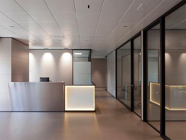 potolok-v-ofise-krasivye-foto потолок в офисе - 10 2 - 20 красивых решений отделки потолка для офиса
