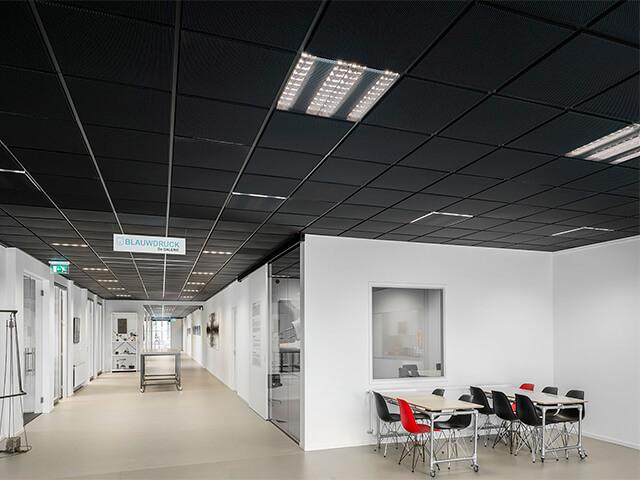 potolok-v-ofise-krasivye-foto потолок в офисе - 13 1 - 20 красивых решений отделки потолка для офиса