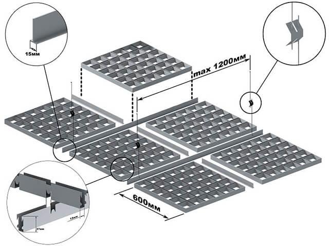 potolok-grilyato потолок грильято - 17 1 - «Грильято»: потолок, который не перепутаешь ни с каким другим