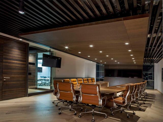 potolok-v-ofise-krasivye-foto потолок в офисе - 24 1 - 20 красивых решений отделки потолка для офиса
