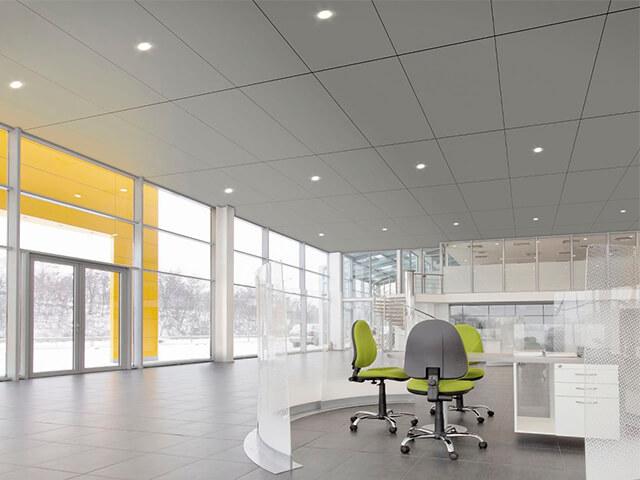 potolok-v-ofise-krasivye-foto потолок в офисе - 3 2 - 20 красивых решений отделки потолка для офиса