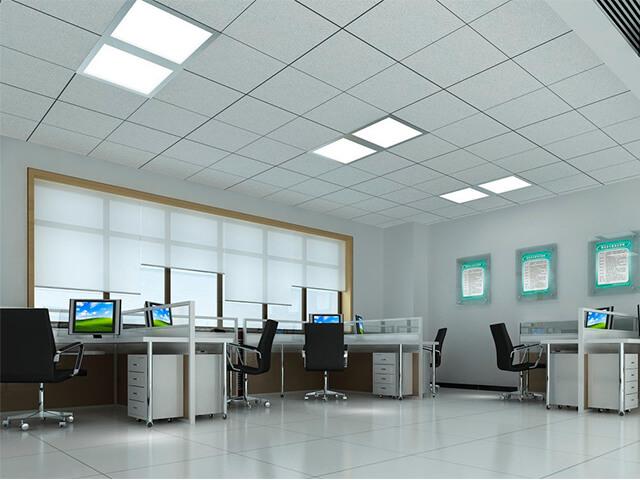 potolok-v-ofise-krasivye-foto потолок в офисе - 4 2 - 20 красивых решений отделки потолка для офиса