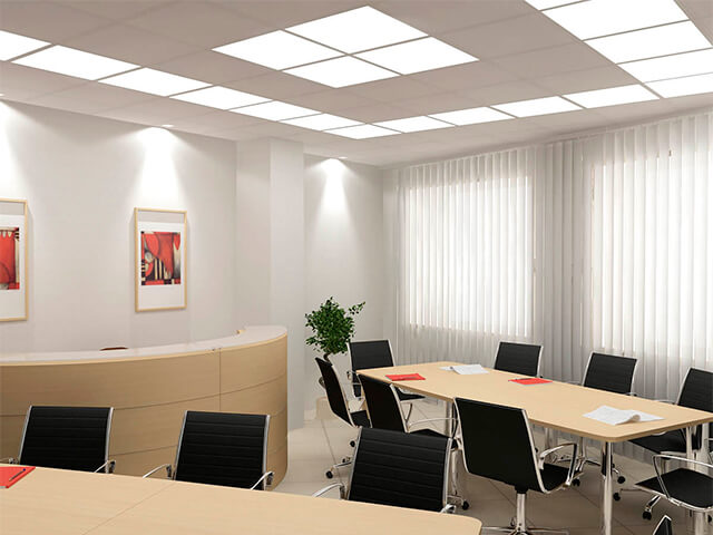 potolok-v-ofise-krasivye-foto потолок в офисе - 40 1 - 20 красивых решений отделки потолка для офиса