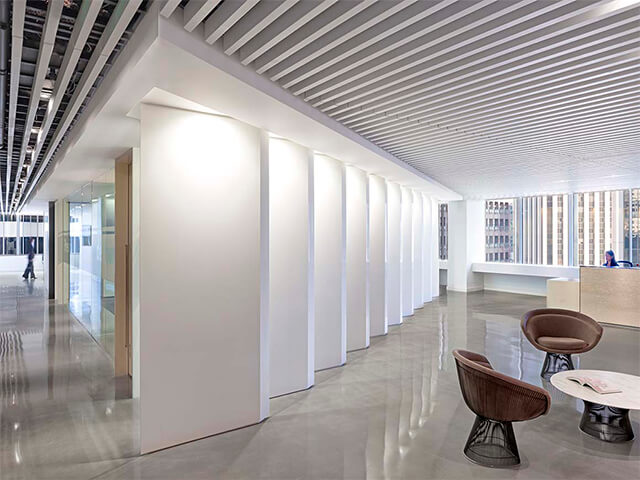 potolok-v-ofise-krasivye-foto потолок в офисе - 5 2 - 20 красивых решений отделки потолка для офиса