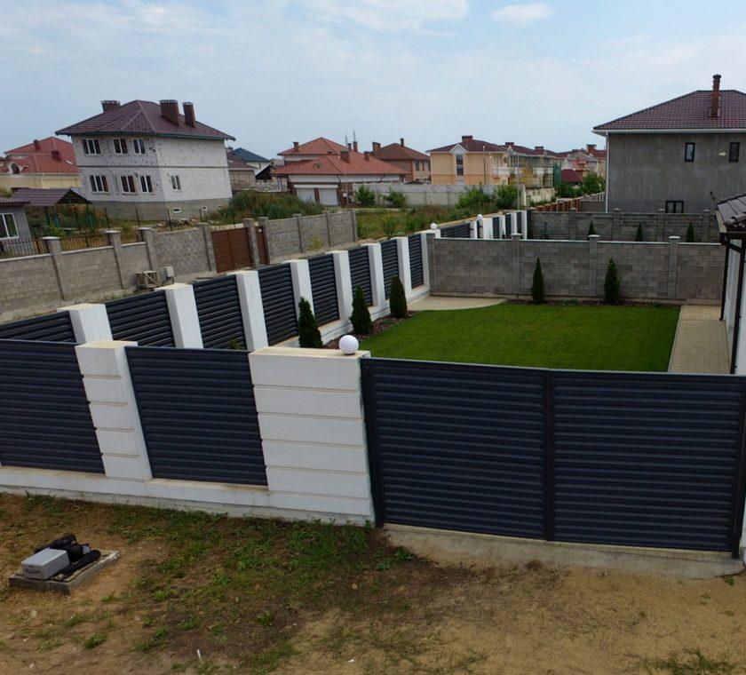 забор - 6 6 840x760 - Виды заборов жалюзи от завода Мехбуд