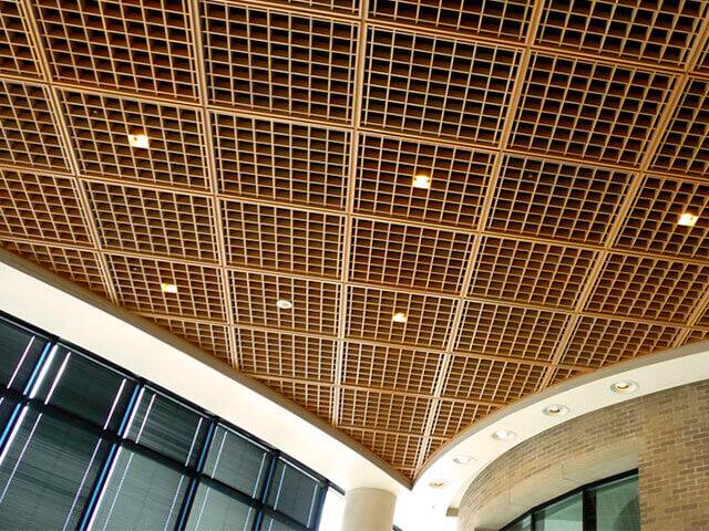 Potolki-Griliato потолок грильято - 7 3 1 - «Грильято»: потолок, который не перепутаешь ни с каким другим