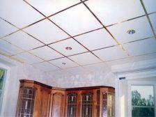 потолок в квартире - 11 224x168 - 15+ красивых идей отделки потолка в квартире и доме
