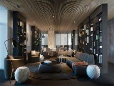 потолок в квартире - 13 224x168 - 15+ красивых идей отделки потолка в квартире и доме