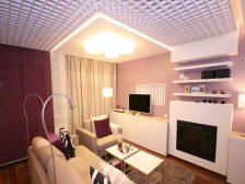 потолок в квартире - 14 224x168 - 15+ красивых идей отделки потолка в квартире и доме