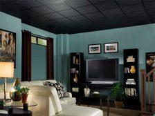 потолок в квартире - 17 224x168 - 15+ красивых идей отделки потолка в квартире и доме