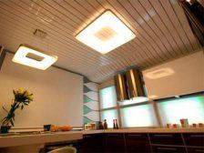 потолок в квартире - 4 224x168 - 15+ красивых идей отделки потолка в квартире и доме