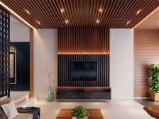 потолок в квартире - 5 224x168 - 15+ красивых идей отделки потолка в квартире и доме