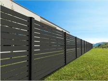 красивый забор - 1 1 224x168 - 40+ красивых идей Горизонтального забора