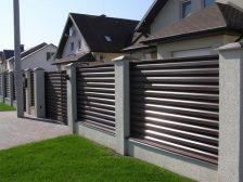 забор жалюзи - 1 4 224x168 - Деревянные и металлические заборы-жалюзи: какие выбрать?