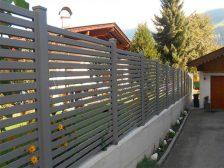 красивый забор - 22 224x168 - 40+ красивых идей Горизонтального забора