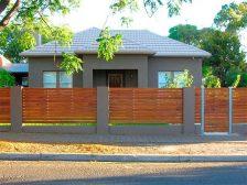 красивый забор - 3 224x168 - 40+ красивых идей Горизонтального забора