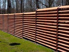 забор жалюзи - 6 2 224x168 - Деревянные и металлические заборы-жалюзи: какие выбрать?