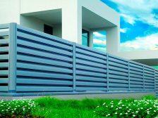 красивый забор - 9 224x168 - 40+ красивых идей Горизонтального забора