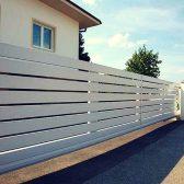 красивый забор - rancho mehbud 168x168 - 40+ красивых идей Горизонтального забора