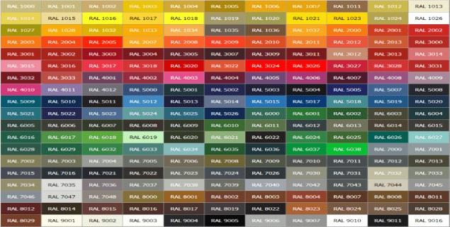 цвета металлических издели -  D0 BA D0 B0 D1 82 D0 B0 D0 BB D0 BE D0 B32 1 - Каталог RAL: выбираем цвета для металлических изделий