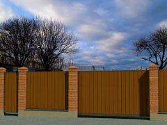 забор - 22 1 240x180 - Виды  ограждений от Завода «Мехбуд»