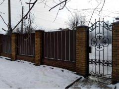 забор - 24 1 240x180 - Виды  ограждений от Завода «Мехбуд»