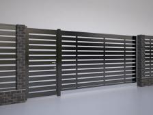 заполнение ворот и калиток - 1 224x168 - Новый взгляд на заполнение ворот и калиток