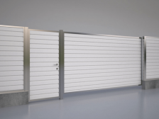 заполнение ворот и калиток - 2 224x168 - Новый взгляд на заполнение ворот и калиток
