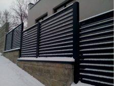 забор - 19 224x168 - Виды  ограждений от Завода «Мехбуд»