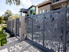 classic aluminium decorative fences and gates 06