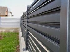 забор - 18 224x168 - Черный металл или оцинкованная сталь с полимерным покрытием: какой забор выбрать?