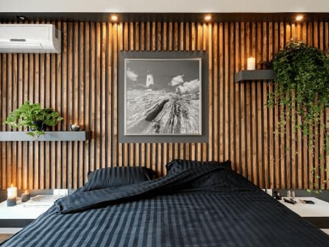 kuboobraznuy-potolok потолок с переходом на стену - 15 - Потолок, переходящий в стену: дизайн и функциональность