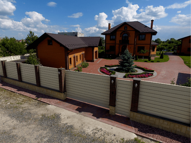 zabor-dlya-doma паркан - 27 - Огорожа для приватного будинку: все, що потрібно знати