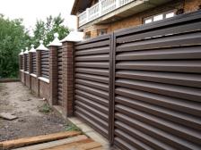 заполнение ворот и калиток - 39 224x168 - Новый взгляд на заполнение ворот и калиток