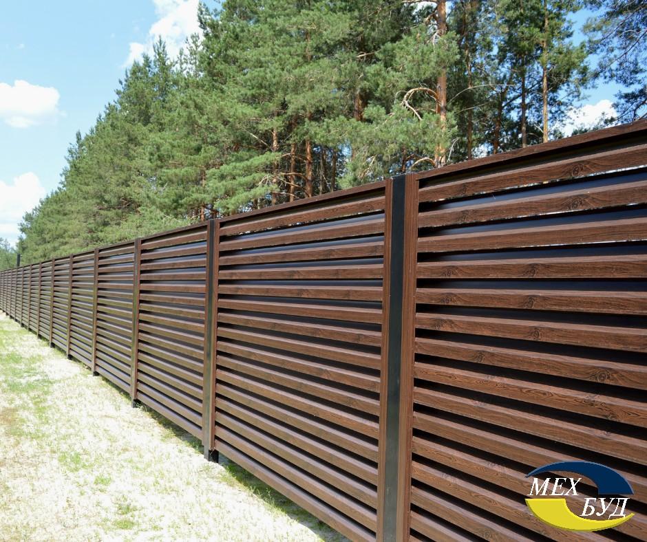 забор для коттеджа - 7 1 - Забор для коттеджа – современные решения для современного жилья!